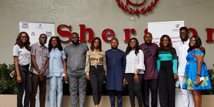 Wema Bank with another first! Graduates first set of newly established SME Business School