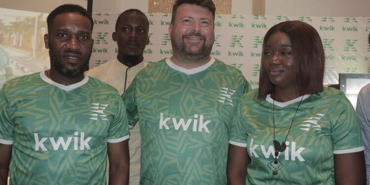 Kwik Delivery unveils JJ Okocha, female power-biker, Fehinty as brand ambassadors
