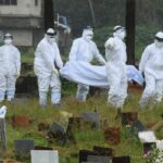 Covid 19 Nipah Ebola Virus Hazmat suit