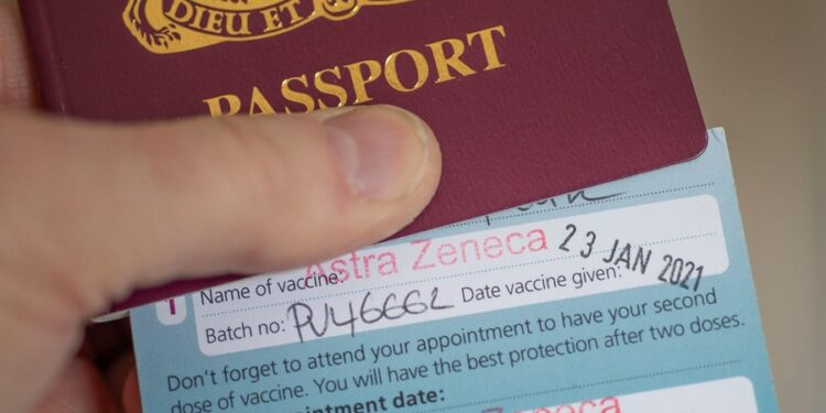 COVID-19: UK halts plans for vaccine passports requirements