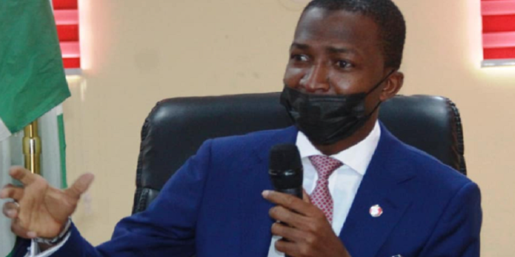 EFCC Chairman, Abdulrasheed Bawa reportedly slumps during FCT event