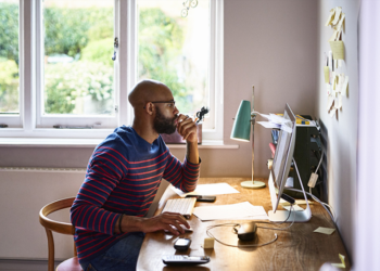 Work productivity: 4 tips towards a dynamic and comfortable home office