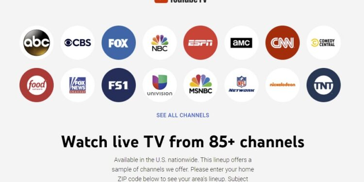 YouTube TV may remove 14 NBC Universal channels due to a contract disagreement