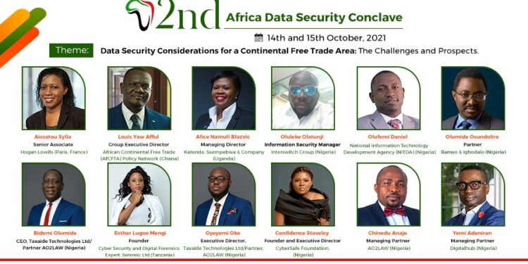 2nd Africa Data Security Conclave set to hold on October 14th & 15th 2021